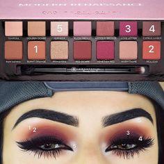 ABH modern renaissance looks Makeup Goals, Love Makeup, Makeup Inspo, Makeup Inspiration, Makeup Tips, Makeup Tutorials, Makeup Ideas, Hair Tutorials, Eyeshadow Tutorials