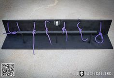 Good idea for scouts.  I think I want to teach my girls thee knots too.