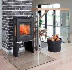 Aduro 13 Wood Burning Stove From Fireplace Products Wood Stove Hearth, Stove Fireplace, Modern Decor, Modern Design, Modern Stoves, Stoves Cookers, Multi Fuel Stove, Ovens, Furniture