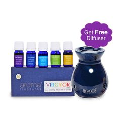 Special Deals Aroma Treasures VIBGYOR Diffuser Oil Kit http://khoobsurati.com/deals/aroma-treasures-vibgyor-diffuser-oil-kit