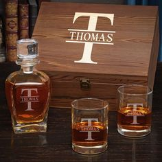 20032993a848 This cool decanter set is the ideal gift for any whiskey drinker in your  life!