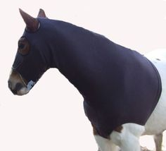 Hoods and Neck Covers 183418: Ecotak Brown Polar Fleece Horse Hood With Bib Ecotak -> BUY IT NOW ONLY: $45 on eBay!