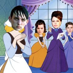 A Gotham Cinderella story #gotham #cinderella #robinlordtaylor I thought i was the only one thinking this haha