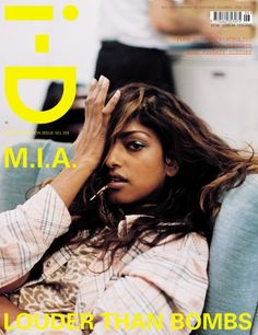 i-D #255: the Declaration Issue.  M.I.A. by Wolfgang Tillamans.