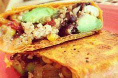 #Vegan Cajun Breakfast Burrito