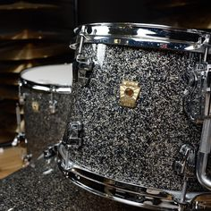 Ludwig Keystone 12/14/20 3pc UpBeat Kit Granite Glitter | Chicago Music Exchange