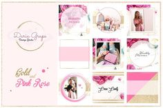 Social Media Pack/ Instagram/ Pink - Instagram - 1