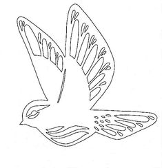 Wood Carving Patterns, Scroll Saw, Paper Cutting, Metal Working, Hand Embroidery, Diy And Crafts, Stencils, Design Inspiration, Birds