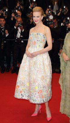 Nicole Kidman in #Dior at #Cannes 2013, see more red carpet photos at http://www.fashionmagazine.com/blogs/society/red-carpet-society/2013/05/21/best-dressed-cannes-2013-red-carpet/