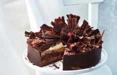 Schokoladen-Spekulatiustorte Kakao, Candy, Chocolate, Desserts, Food, Cake Ideas, Dessert Ideas, Pies, Food Food
