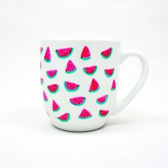 Becher & Tassen - Watermelons- set of six mugs - ein Designerstück von JaCieBrosze bei DaWanda