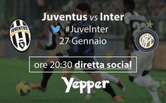 Coppa Italia, semifinale: Juventus-Inter. Diretta testuale Grande serata allo Juventus Stadium. Questa sera, infatti, fischio d'inizio ore 20:45, andrà in scena l'andata della semifinale di Coppa Italia Juventus-Inter. I bianconeri vanno a caccia del 14° suc #juveinter #juventus #inter #italia