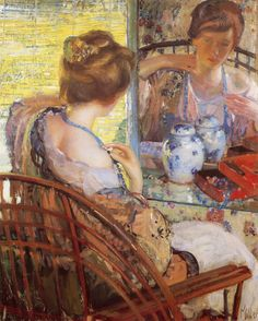 The Athenaeum - The Blue Beads (Richard Edward Miller - No dates listed)
