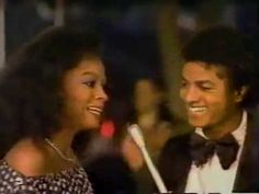 Michael Jackson & Diana Ross at the Academy Awards 1980 (2)