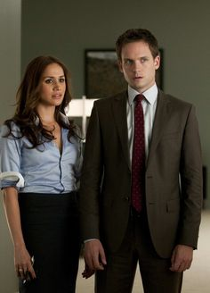Mike and Rachel - Suits