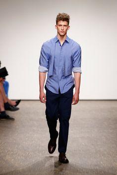Pin for Later: Entdeckt alle Trends der Berlin Fashion Week in nur 5 Minuten Tag 1: Brachmann