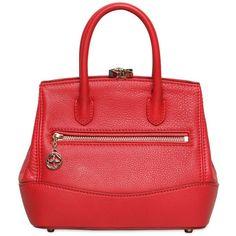 DESMO Mini Sara Deer Embossed Leather Bag