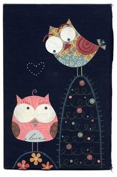 Flirty owls....
