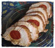 Ildy G. - gasztro és kreatív blogja: Kolbásszal töltött karaj Pork, Kale Stir Fry, Pork Chops