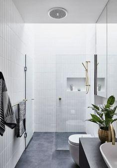 Minimalist Home Interior, Modern Minimalist, Unique Home Decor, Cheap Home Decor, Beautiful Bathrooms, Modern Bathroom, Bathroom Trends, Bathroom Ideas, Bathroom Designs