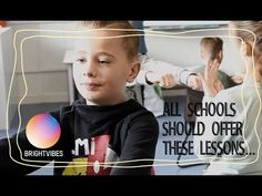 This class receives happiness lessons - YouTube