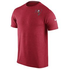 Buccaneers Men s Red Dri-fit Touch Tee by Nike 43ddcd7f1