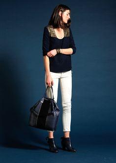 Sézane / Morgane Sézalory - Calvin bag #sezane #calvin www.sezane.com/fr #frenchbrand  #frenchstyle #outfit #bag #handbag