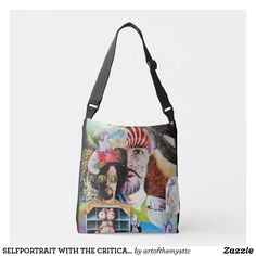SELFPORTRAIT WITH THE CRITICAL EYE CROSSBODY BAG You Bag, My Design, Fashion Accessories, Crossbody Bag, Reusable Tote Bags, Fancy, Eye, My Style, Fashion Design