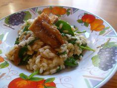 Spinach and Smoked Mackerel Risotto Recipe