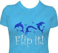 Gymnastics GYMNAST Glitter Tshirt Gymnastic Shirt by AEROLeotards