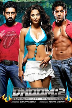 Dhoom 2 (2006) Full Movie Watch Online Free HD - http://www.moviezcinema.com/2016/12/dhoom-2-2006.html