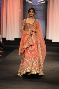 Anjalee & Arjun Kapoor Couture Collection at India Bridal Fashion Week 2012