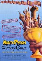 Monty Python and the Holy Grail (1975), directed by Terry Gilliam & Terry Jones