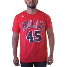 Reebok Chicago Bulls Denzel Valentine  45 Men s Red T-shirt 11a5edf87