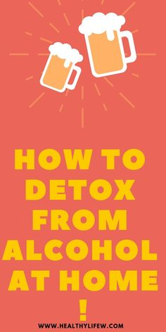 Alcohol detox can be difficult to achieve if you are struggling with breaking away from alcohol. Here are some ways to detox from alchohol, Natural Liver Detox, Detox Your Liver, Liver Detox Cleanse, Natural Detox Drinks, Body Cleanse, Natural Health, Alcohol Detox At Home, Alcohol Cleanse, Alcohol Detox Symptoms