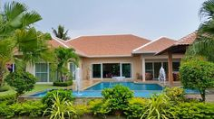 Great villa for sale and rent in Marprachan Lake, Pattaya, THAILAND  http://www.towncountryproperty.com/houses/mabprachan-lake-house-20120.html