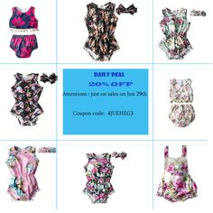 0edbe43a Want to find a romper for your little girl when going to beach or daily wear