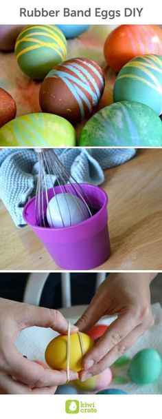 7 Awaken Ideas for Dyeing and Decorating Easter Eggs