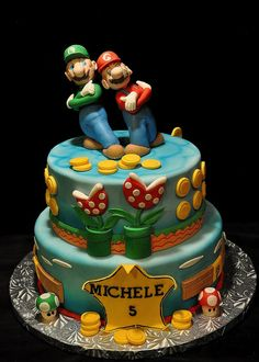 mario and luigi   thank you so very much for the fantastic cake mario and luigi where ...