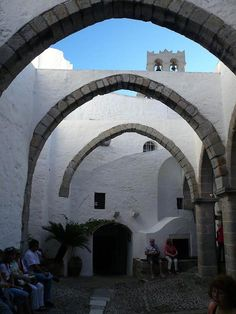 Patmos the Apocalypse Island - Patmos, Dodekanisos  Where Mary lived after Christ's death.