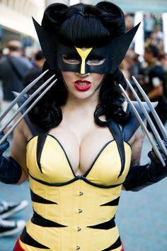 Have you ever noticed that cosplay costumes make hot girls look even hotter? Have you ever noticed that cosplay costumes make hot girls look even hotter? Marvel Cosplay, Wolverine Cosplay, Superhero Cosplay, Disney Cosplay, Anime Cosplay, X Men, Amazing Cosplay, Best Cosplay, Halloween Cosplay