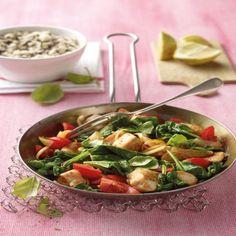Kip met spinazie Recept   Weight Watchers België
