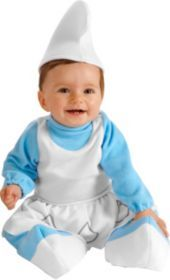 Baby Smurfette Costume Baby Bunting