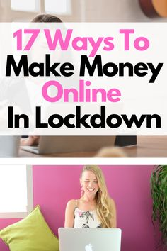 17 Inventive ways to make some much needed money during lockdown. You CAN make money online, here's how! Legitimate Work From Home, Work From Home Jobs, Make Money From Home, Way To Make Money, Pinterest Advertising, Pinterest Marketing, Advertising Ideas, Make Money Blogging, Make Money Online