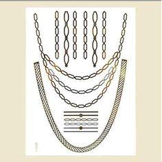 Temporary Jewelry Tattoos Fashion Jewelry Wholesale | Tattoos ...
