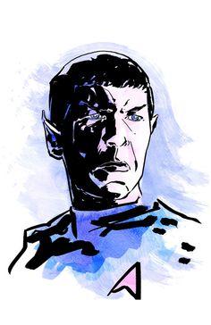 Spock - Star Trek Print