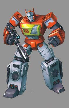 Blaster: Transformers by ZeroMayhem
