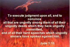 God's wrath on false teachers!