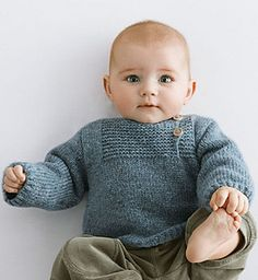 Pull Layette #093-T13-015 pattern by Phildar Design Team