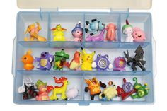 Pokemon Go Mini Figure Organizer w/ 24 Characters - http://amzn.to/2cs4OgD